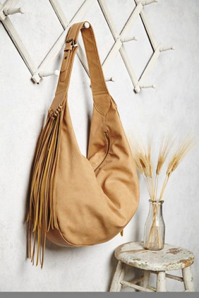 Free People Wild heart vegan hobo in tan