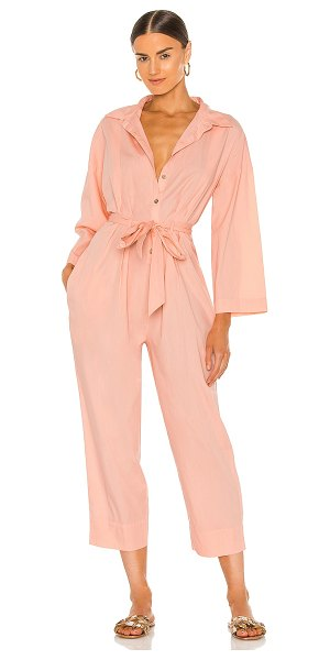 Free People x revolve cameron shirt one piece in impatiens pink