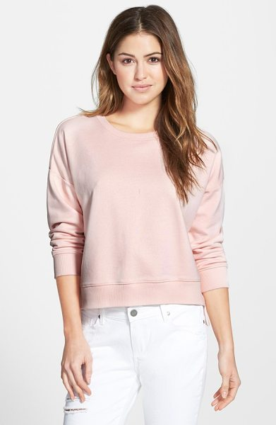 FRENCH CONNECTION cotton jersey sweatshirt - A pure-cotton pullover embodies chic, easy style with...