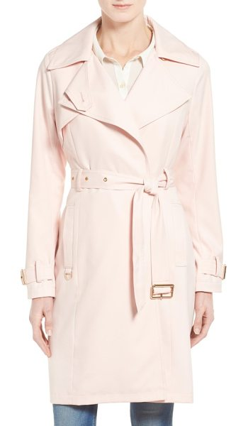FRENCH CONNECTION flowy belted trench coat - Lightweight and water-resistant, a belted trench is a...