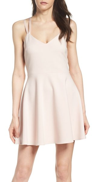 FRENCH CONNECTION whisper light fit & flare dress - A double-strap design gives you the freedom to accent...