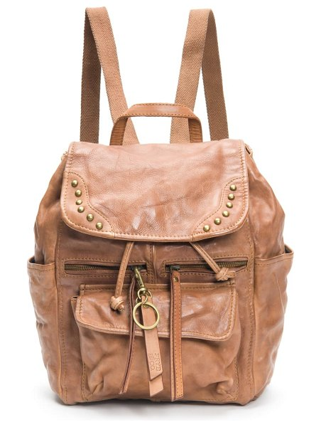 FRYE AND CO odessa leather backpack in brown