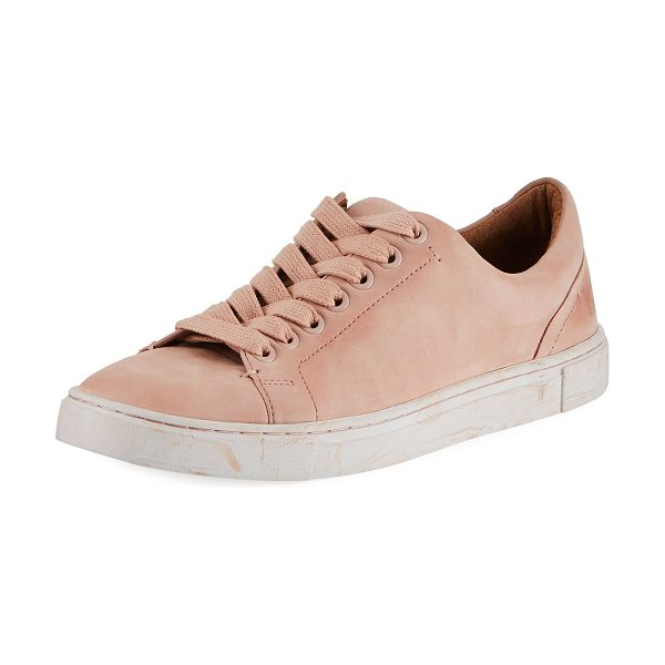 Ivy Low Lace Nubuck Sneakers