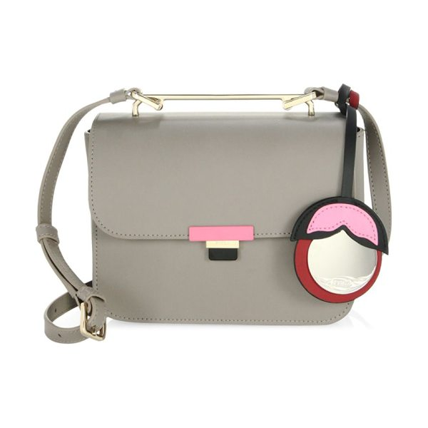 FURLA elisir mini crossbody bag - Leather crossbody bag with cute tassel detail....