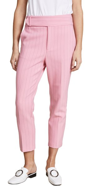 Ganni brighton pants in sea pink - Fabric: Suiting Trouser styling Ankle length...