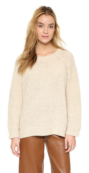 GANNI Chelsea sweater - A slouchy Ganni sweater with subtly speckled color....