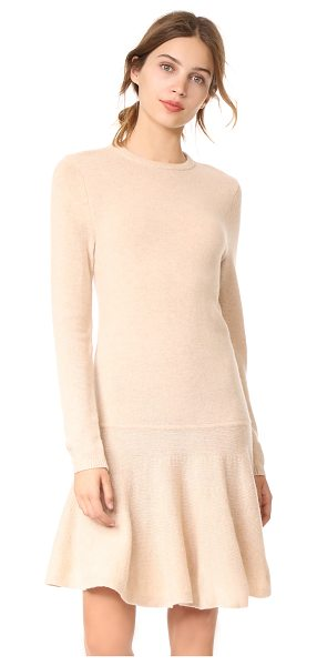 GANNI mercer sweater dress - A drop-waist Ganni sweater dress composed of soft wool....