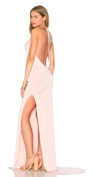 Gemeli Power Remy K Dress in blush - 90% poly 5% elastane 5% spandex. Hand wash cold....
