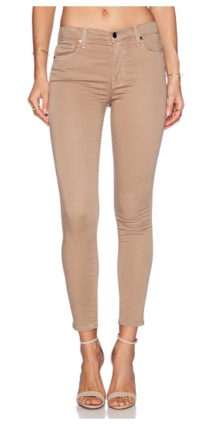 "GENETIC LOS ANGELES Daphne skinny crop - Cotton blend. 13"""" in the knee narrows to 10"""" at the..."