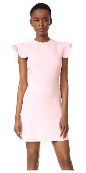 GIAMBATTISTA VALLI sleeveless dress - Scalloped sleeves bring girly charm to this Giambattista...