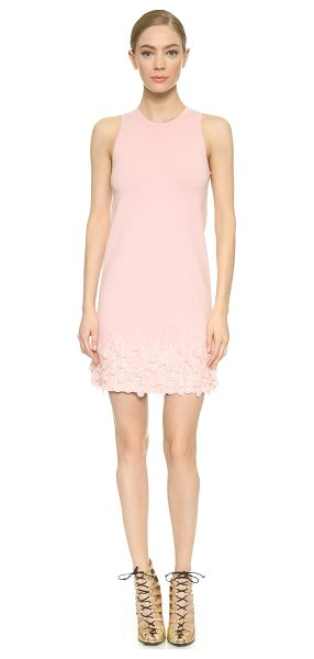 Giambattista Valli Sleeveless dress in pink - An A line Giambattista Valli dress gains playful texture...