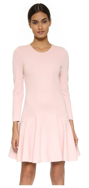 Giambattista Valli Swingy sweater dress in light pink - A flirty Giambattista Valli sweater dress with a drop...