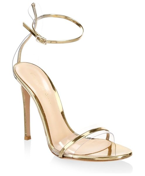 Gianvito Rossi portofino ankle-strap sandals in gold