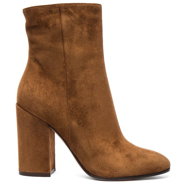 Gianvito Rossi Suede Rolling High Booties in texas - Suede upper with leather sole. Made in Italy. Shaft...