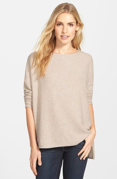 Gibson boatneck fleece top in oatmeal - At fall's first chill, this fuzzy fleece top is just the...