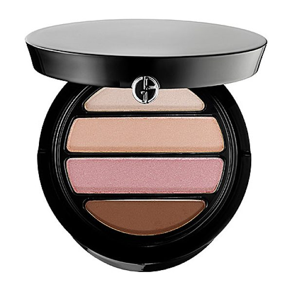 Giorgio Armani eyes to kill 4 color eyeshadow palette 7 blush
