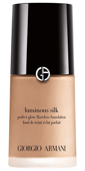 Giorgio Armani luminous silk foundation in tan/ cool undertone