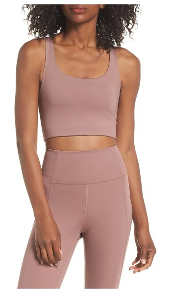 GIRLFRIEND COLLECTIVE paloma sports bra in pink - Cut from fabric made from recycled water bottles, this...