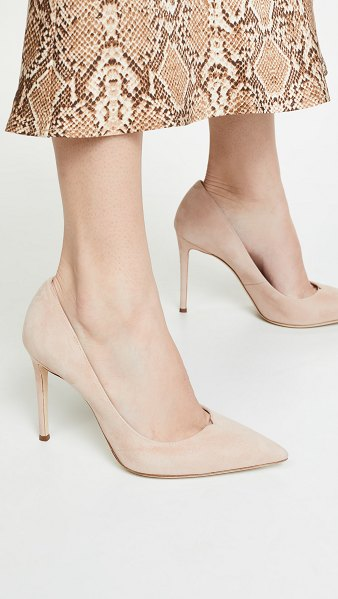 Giuseppe Zanotti formal 105mm pumps in kanda sunkissed - Leather: Calfskin Suede Pumps Stiletto heel Pointed toe...