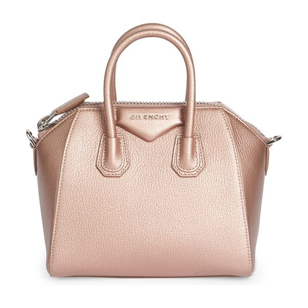GIVENCHY Antigona mini leather satchel - Givenchy's coveted Antigona satchel is scaled down to...