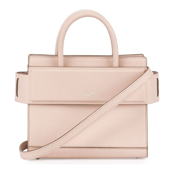 "Givenchy Horizon Mini Grained Leather Tote Bag in pink - Givenchy smooth leather tote bag. Approx. 8""H x 4""W x..."