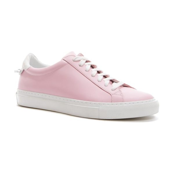 GIVENCHY low top sneaker in bright pink - A chic, low-top sneaker made from supple calfskin is...