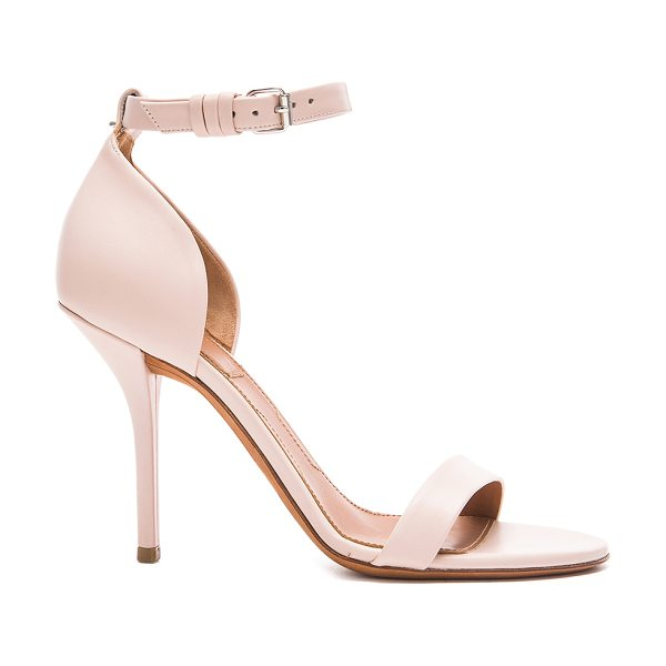 Givenchy Maremma leather heels in neutrals