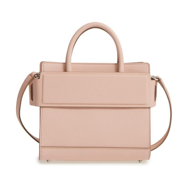 GIVENCHY mini horizon grained calfskin leather tote - Finely pebbled calfskin leather is beautifully crafted...