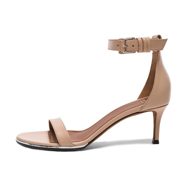 GIVENCHY Nadia leather sandals - Genuine leather upper and sole.  Made in Italy.  Approx...