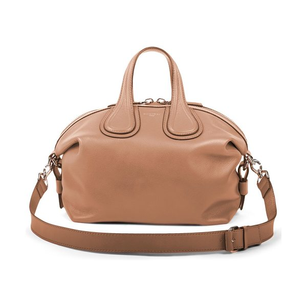 Givenchy Nightingale small satchel in sand - Relaxed yet elegant, this classic silhouette from...