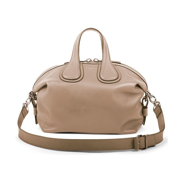 Givenchy nightingale small satchel in nude - Relaxed yet elegant, this classic silhouette from...