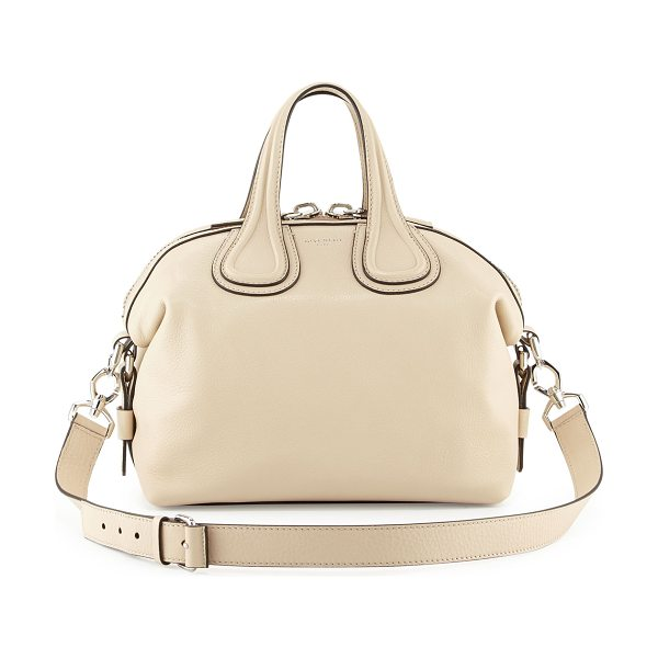 GIVENCHY Nightingale small waxy leather satchel bag - Givenchy waxy calfskin satchel bag. Palladium hardware...