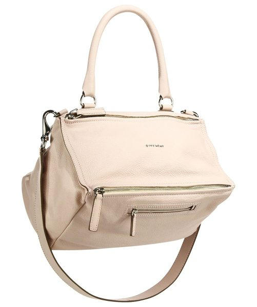 GIVENCHY pandora medium leather shoulder bag in nudepink - Beautifully unique design with signature detail, crafted...