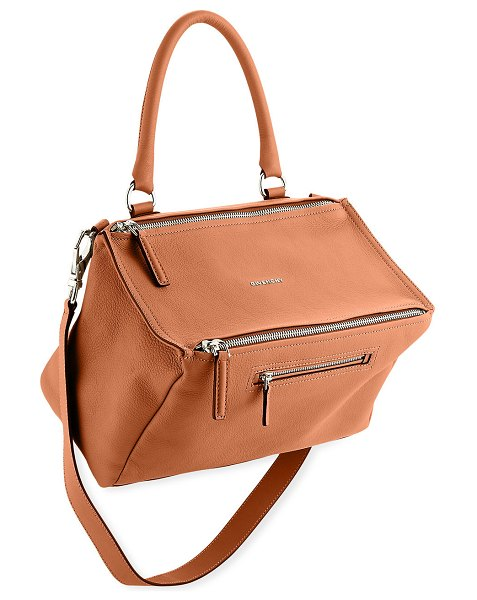 Givenchy Pandora Medium Sugar Satchel Bag in medium brown