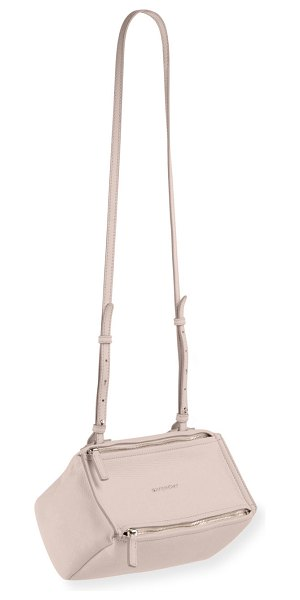 Givenchy Pandora Mini Sugar Crossbody Bag in light pink
