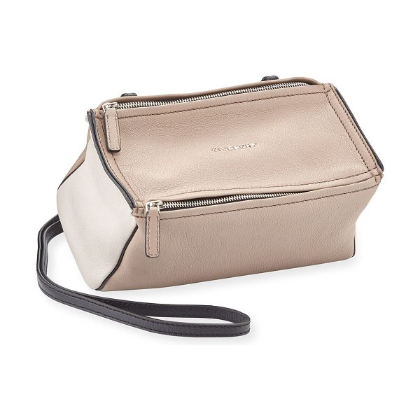 "GIVENCHY Pandora Mini Sugar Satchel Bag - Givenchy ""Sugar"" grained goatskin leather satchel bag...."