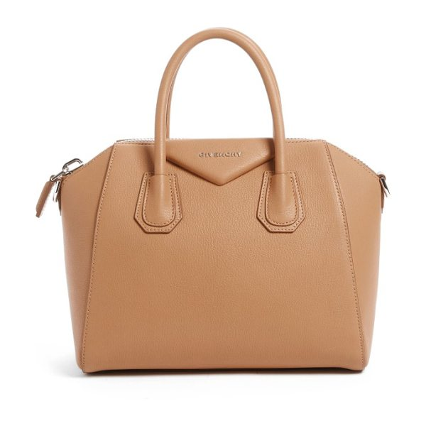 GIVENCHY 'small antigona' leather satchel - Beloved by street-style mavens and well-polished women...