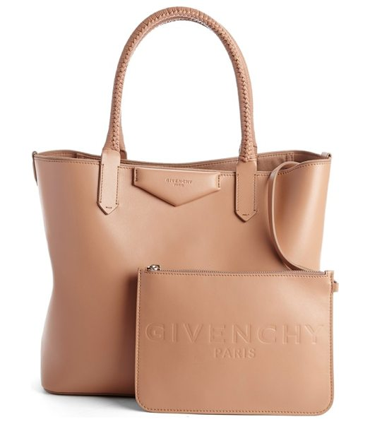 GIVENCHY Small antigona leather shopper - Beautifully smooth calfskin leather lends a polished...