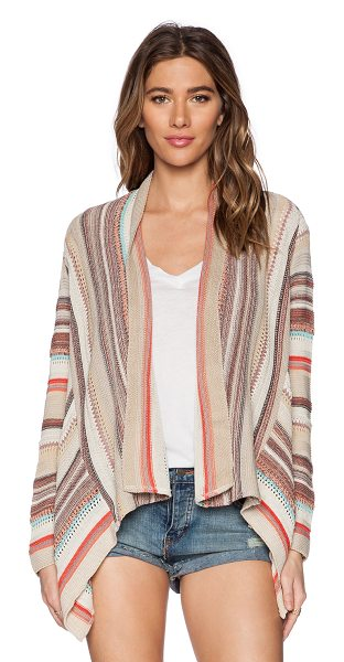 GODDIS Chantal cardigan - 50% acrylic 50% cotton. Dry clean only. Open front....