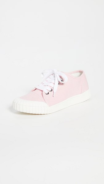 Good News bagger low lace up sneakers in pink