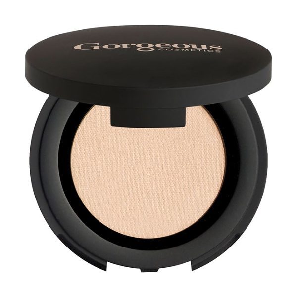 Gorgeous Cosmetics Colour pro eyeshadow in nude - Rich, silky shadows, enriched with intense color pigment...