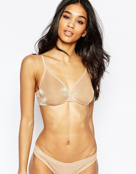 GOSSARD Fuller Bust Glossies Sheer Bra AF Cup - Bra by Gossard, Super sheer fabric, Soft handle cups,...