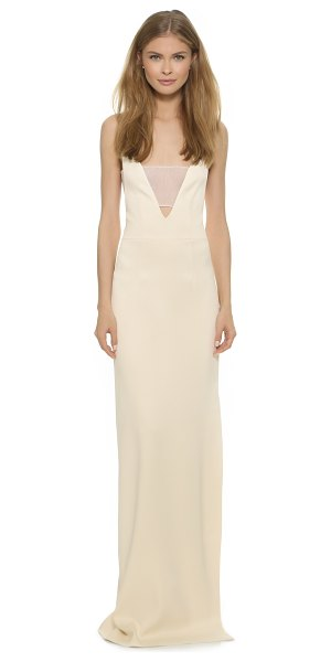 Grace Brian long dress in ecru - Description NOTE: Sizes listed are UK. Please see Size &...
