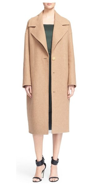 Grey Jason Wu double face wool coat in camel/ camel - A neutral camel coat is a fall season staple, and Jason...