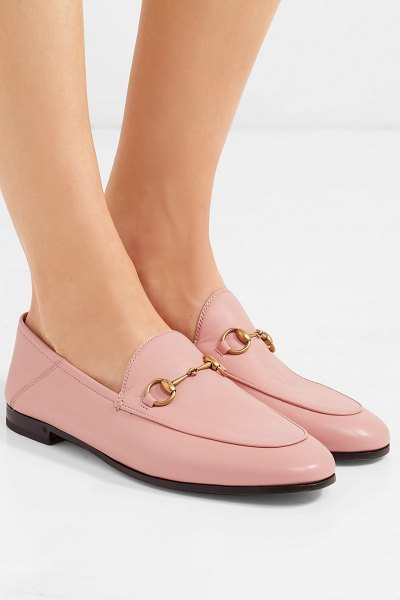 gucci brixton loafer pink
