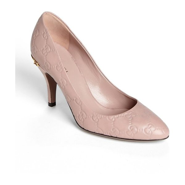 Gucci elizabeth pump in pink