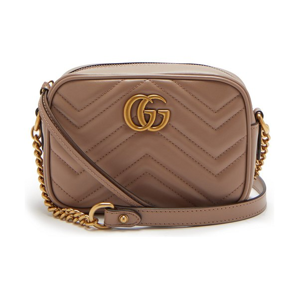 Gucci Gg Marmont Quilted Leather Cross Body Bag  4a71ff71dbeba