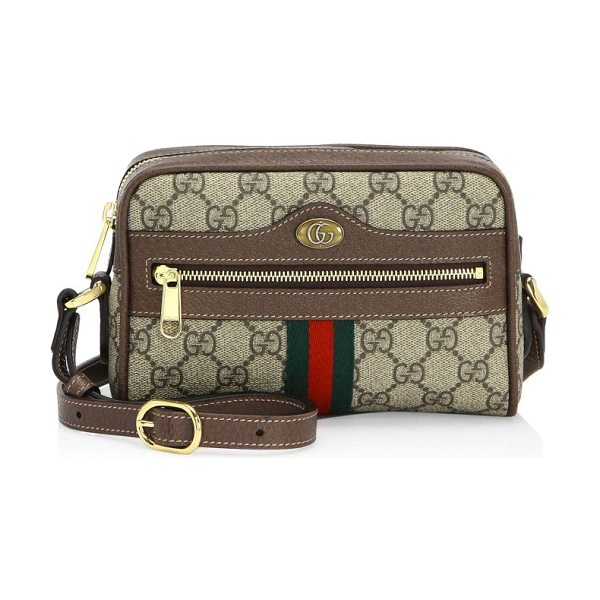 35b4a00cd18e Gucci mini ophidia gg supreme canvas crossbody bag in brown - Ophidia GG  Supreme mini bag