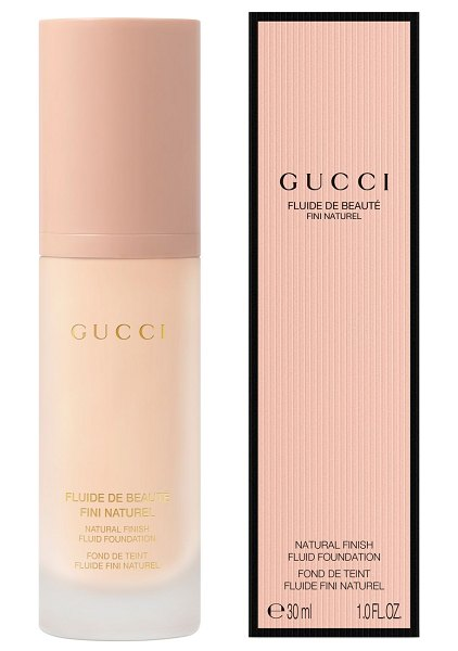 Gucci natural finish fluid foundation in ,nude