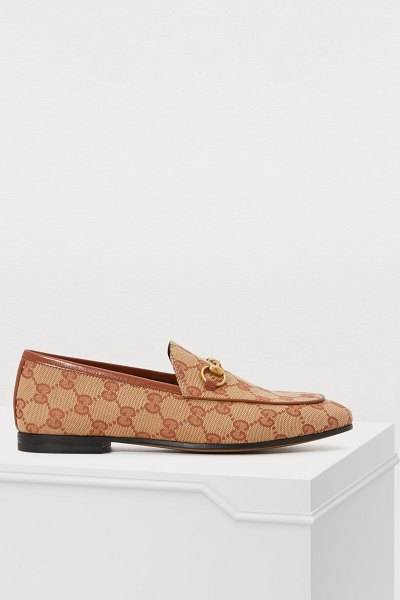 Gucci New Jordaan loafers in beige - Fall in love with the retro look of the New Jordaan...